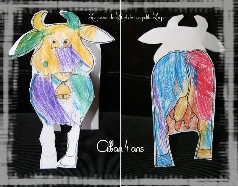 La petite vache d'alban