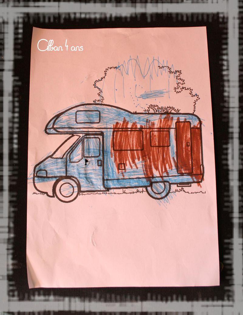 Camping car alban