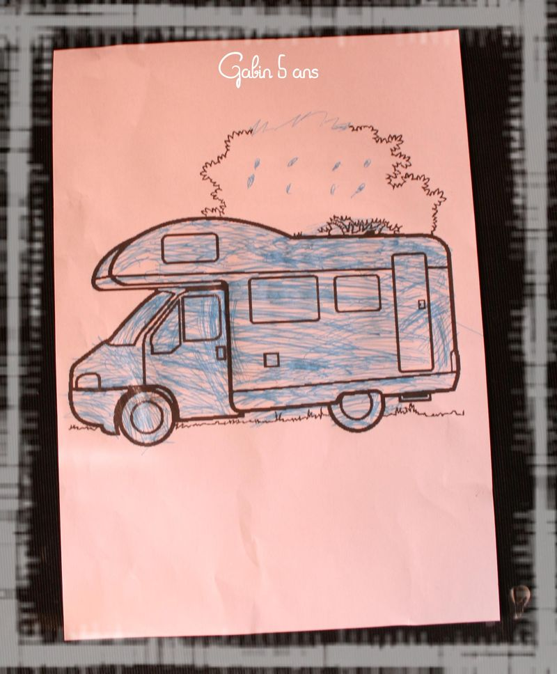 Camping car gabin