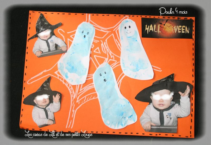 Tableau halloween 1er pour paulin