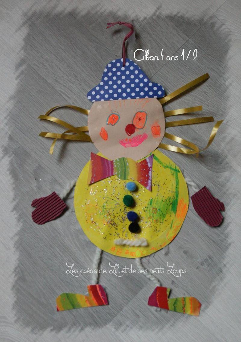 Le clown geant alban