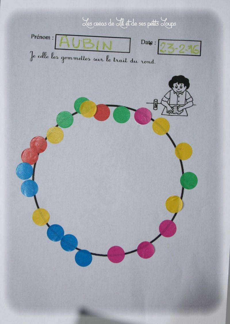 Le collier de gommmette de gabrielle