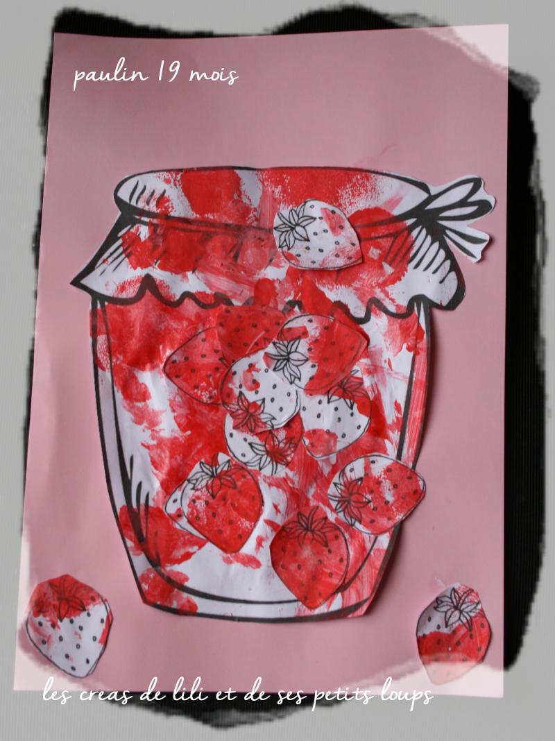 Confiture fraise paulin