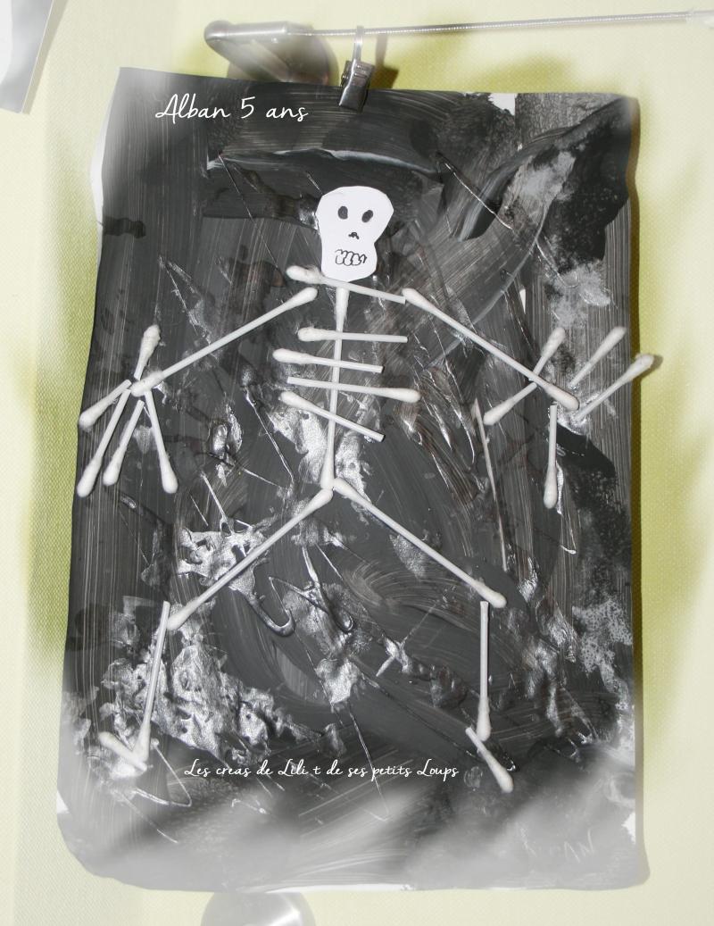 Squelette alban