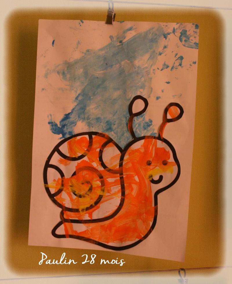 Escargot sous pluie paulin